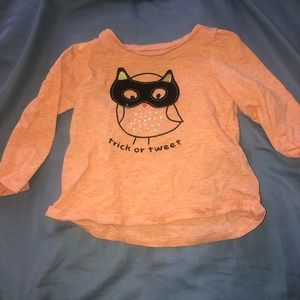 Long sleeve Halloween shirt
